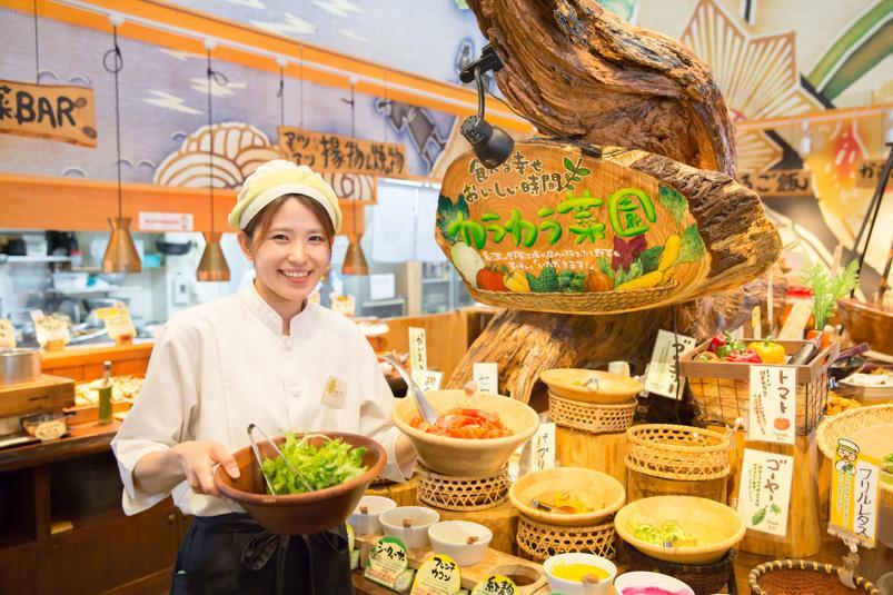 ☆沖縄の島野菜たっぷり!「カラカラあしびなー店」/店舗スタッフ募集♪☆